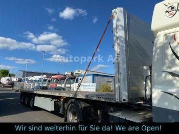 Schmitz Cargobull Plattform Auflieger Verzinkt Staplerhalterung  - semi-remorque plateau