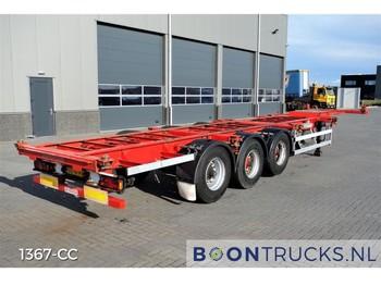 Semi-remorque porte-conteneur/ caisse mobile Groenewegen 40-14CC-12-27 | 20-30-40ft CONTAINERCHASSIS