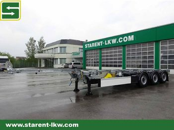 Semi-remorque porte-conteneur/ caisse mobile Schmitz Cargobull Containerchassis - 45 EURO 20, 30, 40, 45: photos 1