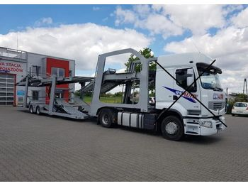LOHR Euro - autotransporter semi-trailer