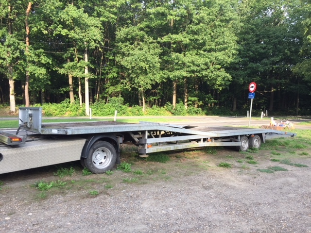 Autotransporter semi-trailer VREDEVELD AUTOTRANSPORT OPLEGGER 9 65m -  Truck1 ID: 3186186