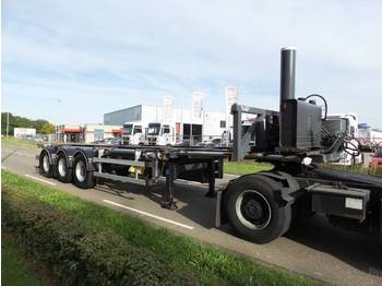 Lag lag 30 ft tipping whit rotory valve - chassis semi-trailer