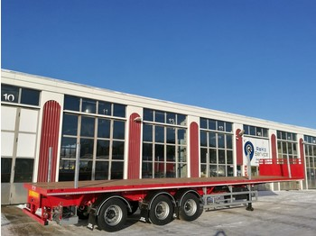 SDC Trailers Extendible flatbed - chassis semi-trailer