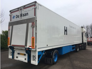 DRACO DTEA 1200 1000 - closed box semi-trailer