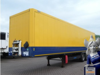 Closed box semi-trailer Krone TEXTIL KOFFER DOPPELSTOCK