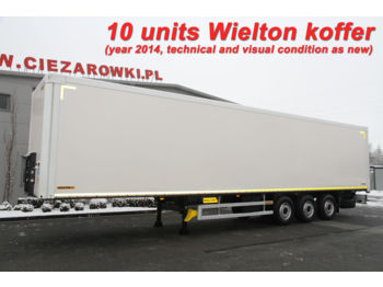 WIELTON NS34 KOFFER CONTAINER 10 UNITS! - closed box semi-trailer