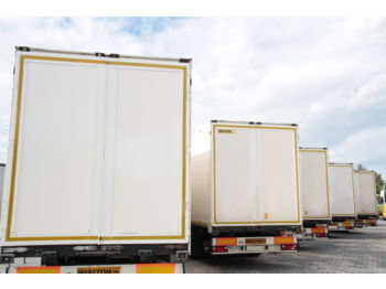 WIELTON SEMI TRAILER NS34 KOFFER 10 UNITS - closed box semi-trailer