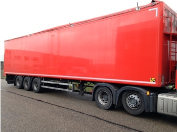 kraker CF200 93m2 - closed box semi-trailer