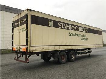 Closed box semi-trailer  / -  2 Achs Auflieger Kofferauflieger
