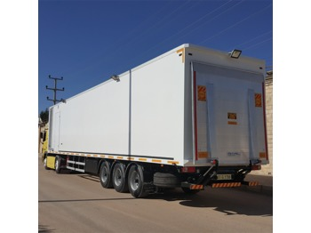 Closed box semi-trailer AKYEL TRAILER SPECIAL PROJECTS MOBILE SEMI TRAILER