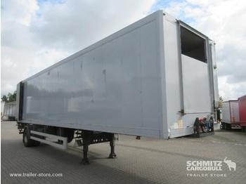 Closed box semi-trailer  Auflieger Tiefkühler Standard Taillift