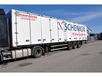 Closed box semi-trailer BARTOLETTI F111EF/T-1 Objekt