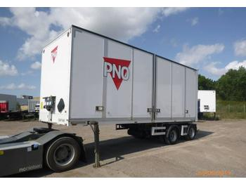Closed box semi-trailer DENNISON/GEHAB LINK BOX WITH OPENING SIDE - EAP 94