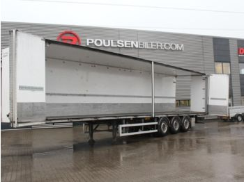 DIV. Ekeri  - closed box semi-trailer