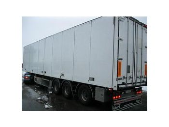 EKERI  - closed box semi-trailer