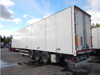 Ekeri Dry freight / side opening - closed box semi-trailer