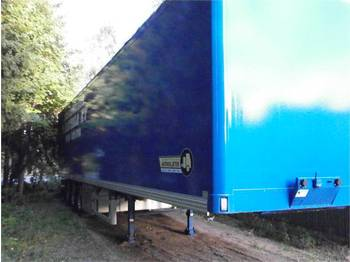 Ekeri Ekeri L-3 - closed box semi-trailer