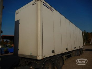Ekeri L/L-4 4-axlar Box Trailer (side doors) - closed box semi-trailer