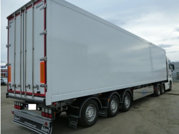 Ekeri Semitralle - closed box semi-trailer