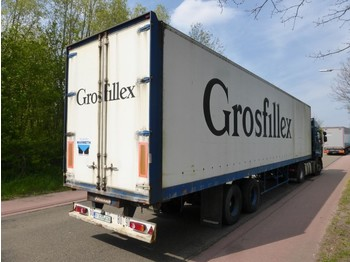 Closed box semi-trailer Fruehauf D33V1NLA LAMMES/SPRING/BLATT