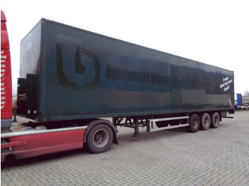 Groenewegen DRO-12-27 - closed box semi-trailer