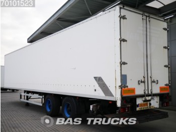 Groenewegen Lenkachse LBW Ladebordwand Hartholz-Boden BPW DRO-12-20 B Ladebordwand - closed box semi-trailer