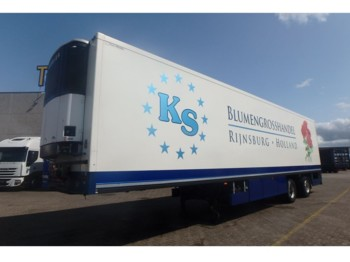 KM Carrier frigo + 2 AXLE - closed box semi-trailer