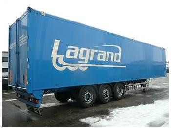 KNAPEN K200 92 M3 - closed box semi-trailer