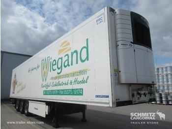 Closed box semi-trailer KRONE Auflieger Tiefkühler Standard Double deck