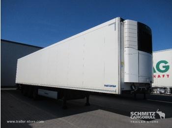 Closed box semi-trailer KRONE Auflieger Tiefkühler Standard Taillift