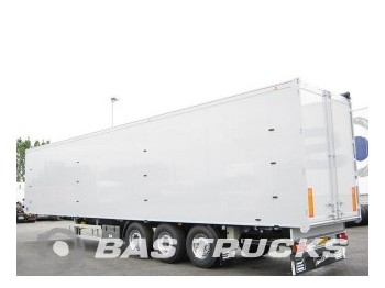 Knapen 92m? Liftas Stro-belading K200 - closed box semi-trailer