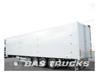 Knapen 92m? Stro-belading. Liftachse K200 - closed box semi-trailer