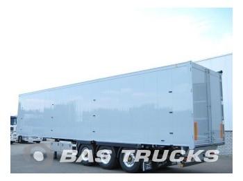 Knapen Alcoa velgen. Stro-belading. Hogedruk unit. Gold - closed box semi-trailer