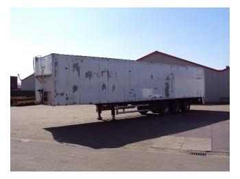 Knapen K.O.W.F.390-A - closed box semi-trailer