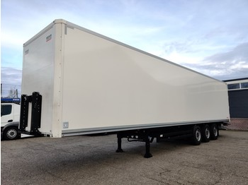 Kögel SKH24 S 3 assen SAF - Lift-as - Dhollandia Ondervouwklep Top Conditie 6/2020APK - closed box semi-trailer