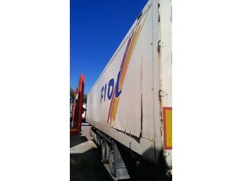 Closed box semi-trailer Krone