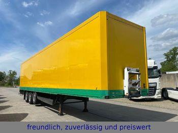 Krone * SDK 27 * KOFFER * LIFT ACHSE *  TÜV *  - closed box semi-trailer