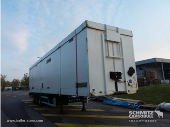 Leci Trailer Box Taillift - closed box semi-trailer