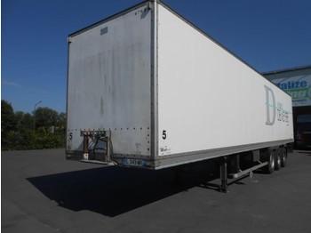 Closed box semi-trailer Lecitrailer 3 axles - drum brakes/tambour