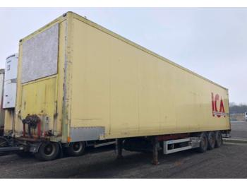 Närko S3MB11R19  - closed box semi-trailer
