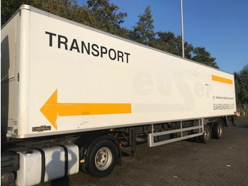 Closed box semi-trailer Pacton chereau stuuras laadklep apk