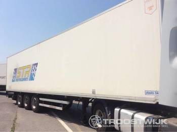 Plasto block PB 116 B - closed box semi-trailer