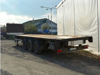 Closed box semi-trailer SAMRO ST 39 WG