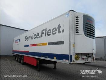 Closed box semi-trailer SCHMITZ Auflieger Tiefkühler Multitemp Double deck