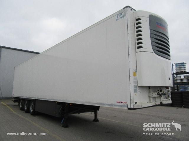 closed box semi-trailer SCHMITZ Auflieger Tiefkühler Standard Double deck