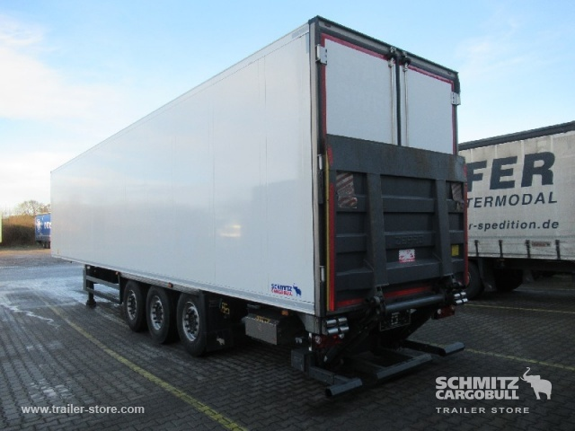 closed box semi-trailer SCHMITZ Auflieger Tiefkühler Standard Taillift