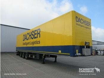 Closed box semi-trailer SCHMITZ Auflieger Trockenfrachtkoffer Standard Double deck