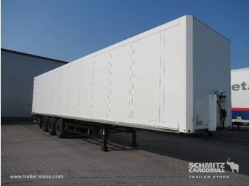 Closed box semi-trailer SCHMITZ Auflieger Trockenfrachtkoffer Standard Taillift