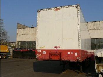 SDC BV44B - closed box semi-trailer