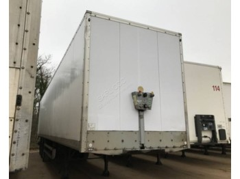 Samro BE684FH Fourgon système double etage reconditionnée - closed box semi-trailer